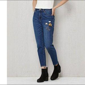 Pacsun retro jeans punk blue